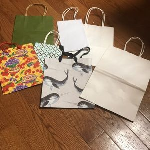 🎁Lot of 7 gift bags